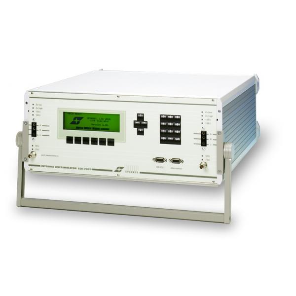 Portable and programmable Copper Line Simulator